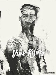 Duke Rising by Ayoub Qanir, via Behance