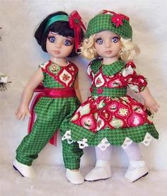 Dress Jumpsuit Hat Shoe Set Made for Tonner Patsy Similar Size 10''Dolls | eBay