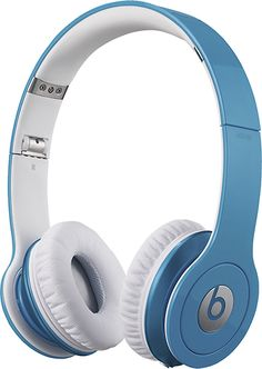 Beats By Dr. Dre - Beats Solo High-Definition Over-the-Ear Headphones - Smartie Blue