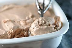 No Churn Chocolate Ice Cream Recipe from addapinch.com