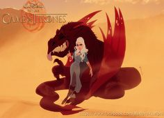 """11 Awesome Pics That Reimagine """"Game Of Thrones"""" Cast Members As Disney Characters - clipd.com"""