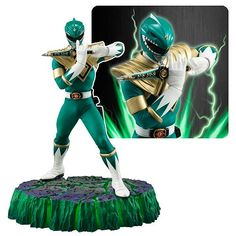 (affiliate link) Power Rangers Green Ranger Figuarts Zero Statue