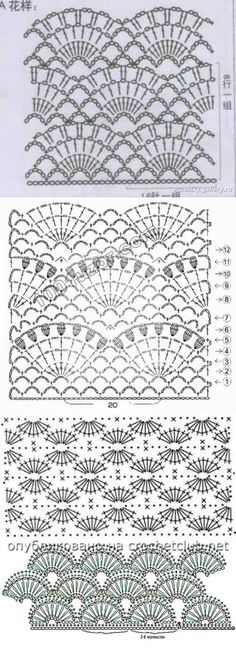 This Pin was discovered by Вер Crochet Diagram, Crochet Chart, Filet Crochet, Crochet Motif, Crochet Lace, Crochet Hooks, Crochet Flower Patterns, Crochet Stitches Patterns, Stitch Patterns