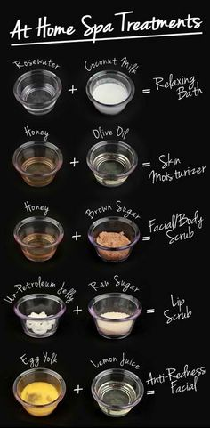 DIY At Home Spa Treatments