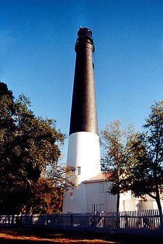 From my home! Pensacola, FL! Like all of other southern homes, this is a part of my day to day misses from my home state and home region! On March 3, 1823, Congress authorized $6,000 for Pensacola Lighthouse. To serve the port until the lighthouse was finished, the floating light vessel Aurora Borealis was transferred from the mouth of the Mississippi. The vessel was positioned in calm waters behind the western end of Santa Rosa Island. A site just west of Fort Barrancas.