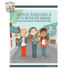 Conflict Resolution & Peer Mediation Manual