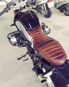 Kingsman Art & Crafts Seat #patina leather #r9t #bmw