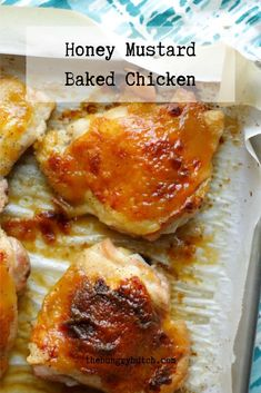 This is the recipe that finally convinced me why people love honey mustard so much, and it shines in an easy-to-prepare sweet and tangy chicken. Fun Easy Recipes, Simply Recipes, Easy Meals, Savoury Dishes, Food Dishes, Main Dishes, Chicken Meals, Baked Chicken Recipes, Vegetarian Main Course