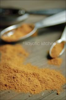 DIY Spice Rub Chicken    3 Tbsp ground cardamom  3 Tbsp ground ginger  2 Tbsp ground turmeric  2 Tbsp ground cumin  2 Tbsp ground coriander  1 Tbsp ground allspice  3 Tbsp ground black pepper  2 Tbsp cayenne  1 tsp ground cloves        Mix all ingredients in a small bowl or jar. Store in an airtight container for up to two months.