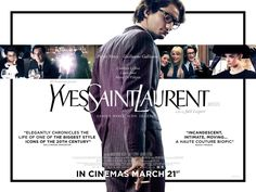Tonight I watched #YvesSaintLaurent new movie. Powerful, touching, inspiring and provocative. To remind us all that, in this crazy-paced age, the most beautiful things in life - like clothes or love - are the fruit of a delicate balance between foolishness and truth.