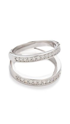 Fallon Jewelry Pave Split Ring ($225)