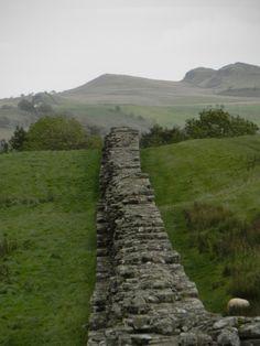 Hadrain's wall