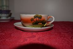 occupied Japan China Tea Cups, Fine China, Teacup, Cup And Saucer, Japan, Antique, School, Tableware, Vintage