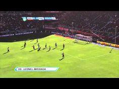 Gol Miranda. Independiente 1 Racing 0. Torneo Final 2013.