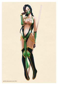 Jade - Mortal Kombat - jaimito.deviantart.com