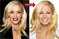 Try Hairstyles Amusing Hollywood Hair Virtual Makeover  Try On Celebrity Hairstyles Online