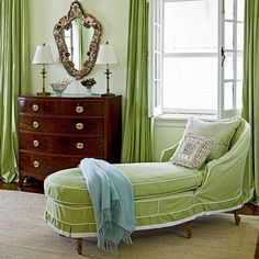 Apple green slipcover - [Spring]