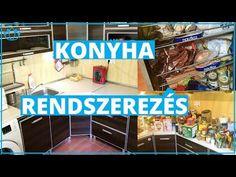 Konyha rendszerezés 0 Ft-ból! | Otthonszervező találkozó elejétől a végéig - YouTube Kamra, Kitchen, Youtube, Projects, Diy, Home Decor, Log Projects, Cooking, Blue Prints