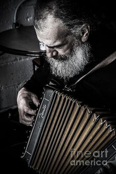 The Accordion Player