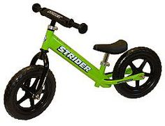 Strider Balance Bike Green