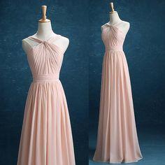 Fahion Chiffon Bridesmaid Dress,Vestido de festa de casamento  SN0005