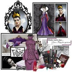 Disney Villian - Evil Queen - Polyvore