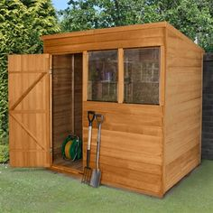 7x5 apex overlap dip treated shed garden sheds from buyshedsdirect pinterest gardens