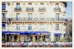 Resto cafe francais terrasse paris