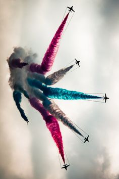 The Red Arrows - 2013 by (YorkshireFlyer)