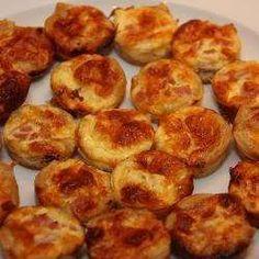 Recette Mini quiches lorraine sans pâte – Toutes les recettes Allrecipes