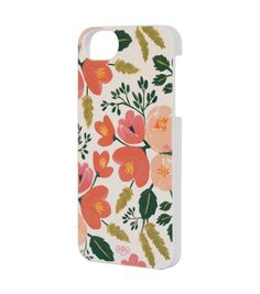 Botanical Rose iPhone 5 Case - SLIM by Rifle Paper Co.