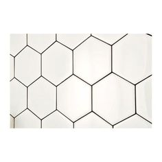 Daltile Semi Gloss White Hexagon 4 in. x 4 in. Glazed Ceramic Wall Tile (3 sq. ft. / case)-010044HEXHD1P2 - The Home Depot
