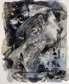 Ayana Mizuno Acrylic, conte, pastel and ink on paper  #abstract #women #mind #emotion #portrait #side #conte #pastel #artwork #ink #drawing #art #painting #pencil #acrylic #kunst #arte #artist #design #instart #follow #sketch #fineart #gallery #fashion #illustration #contemporaryart #decor #アート #絵画