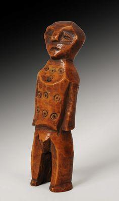 Africa | A Lega Ivory Figure, Democratic Republic Of Zaire | circa 1940