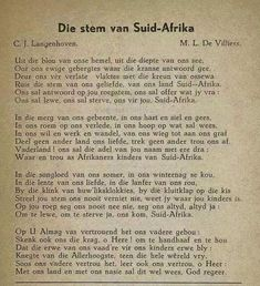 Afrikaans Language, Union Of South Africa, Afrikaanse Quotes, Pretoria, Beaches In The World, African History, Cape Town, Childhood Memories, Van