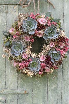 Vintage Summer Door Wreath