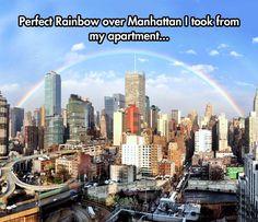 Rainbow Over Manhattan
