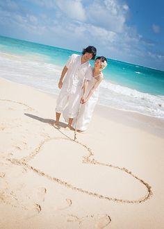 画像 : 【新郎・新婦】ビーチで撮る結婚写真【フォトウエディング】 - NAVER まとめ