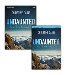 Undaunted Participant's Guide with DVD: Daring to Do What God Calls You to Do