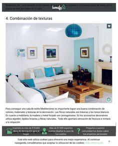 Homify México | Fevereiro de 2016 A Revista Homify mexicana, destaca a combinação de texturas e o toque mediterrâneo, deste projeto.