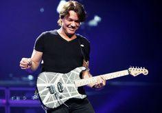 Eddie Van Halen on tour 2012