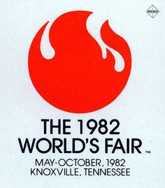 1982 World's Fair - Knoxville Tennessee // my old design professor designed this!