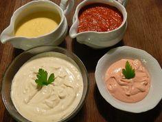 Crema di salmone e crema gorgonzola e panna | Ricette Finger food