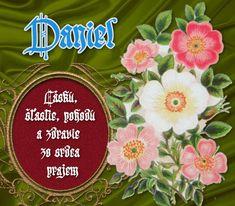 Daniel - prianie k meninám