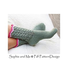 Ravelry: Fern Socks pattern by Sophie and Me-Ingunn Santini