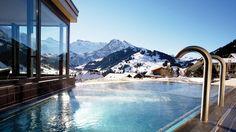 Piscia do Cambrian Hotel, em Adelboden, Suiça