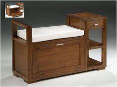 Sideboard Furniture, Furniture Ads, Smart Furniture, Recycled Furniture, Home Decor Furniture, Rustic Furniture, Furniture Design, Wooden Sofa Designs, Diy Storage Bench