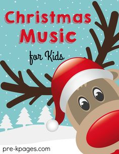 Christmas Songs for Preschool Kids - Pre-K Pages Youtube Christmas Music, Christmas Music For Kids, Preschool Christmas Songs, Christmas Concert, Preschool Winter, Christmas Activities, Childrens Christmas Songs, Christmas Ideas, Xmas Music