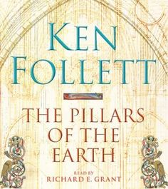 Set in the turbulent times of 12th century England where civil war, famine, religious strife and battles over royal succession tore lives and families apart, The Pillars of the Earth tells the story of the building of a magnificent cathedral. Against this richly imagined backdrop, filled with intrigue and treachery, Ken Follett draws the reader irresistibly into a wonderful epic of family drama, violent conflict and unswerving ambition.