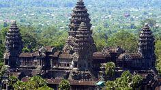 Angkor Wat, joyau du Cambodge.